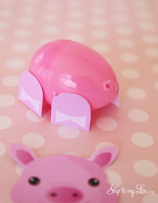 Easter Egg Pig Craft 1