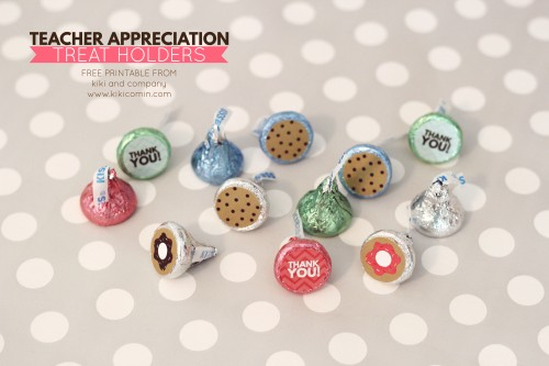 Teacher Appreciation Treat Holders from kiki and company. So perfect.