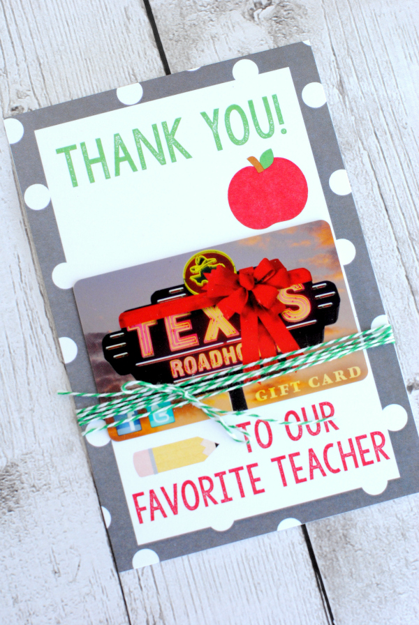 TeacherAppreciationGiftCardHolder