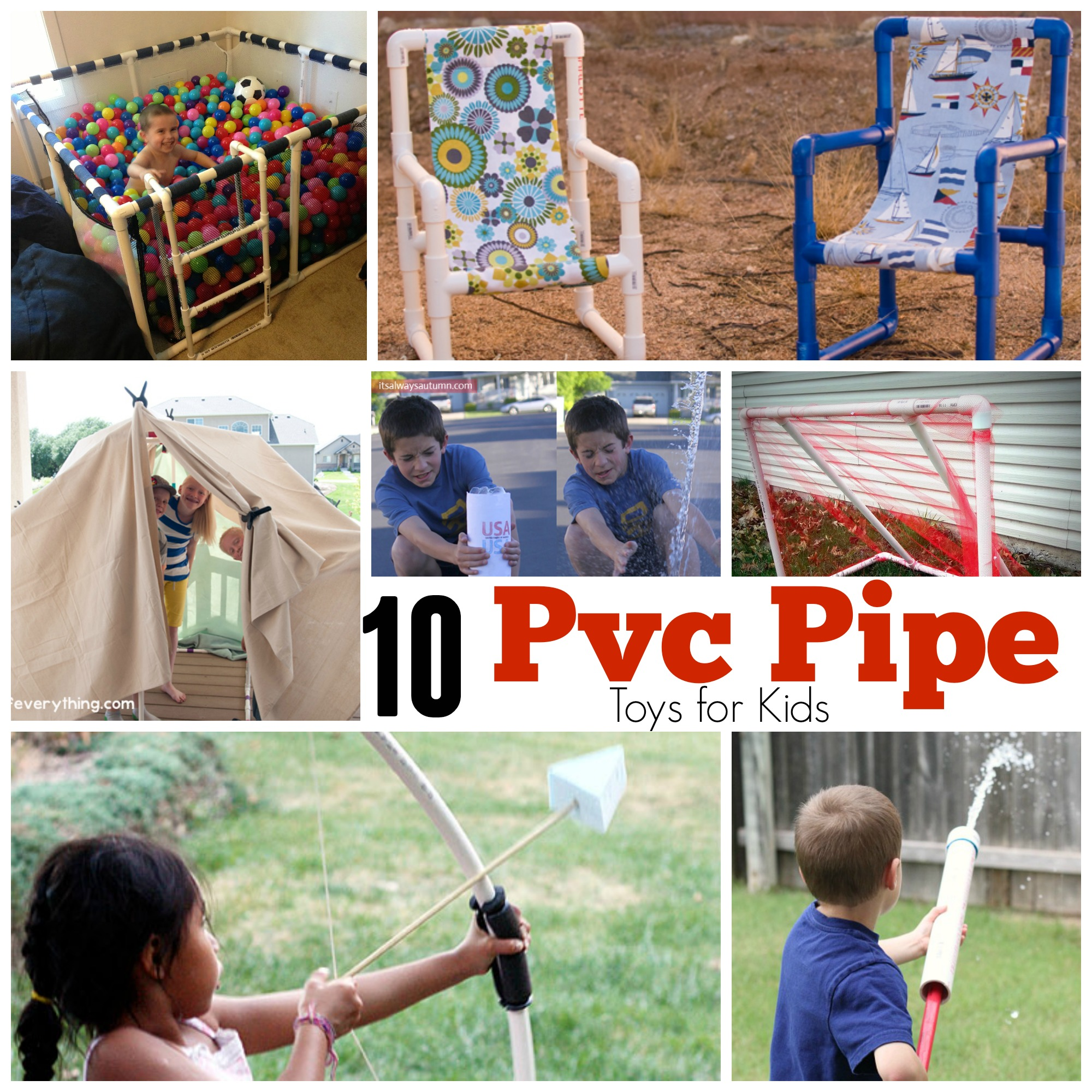 pvc pipe toys for kids