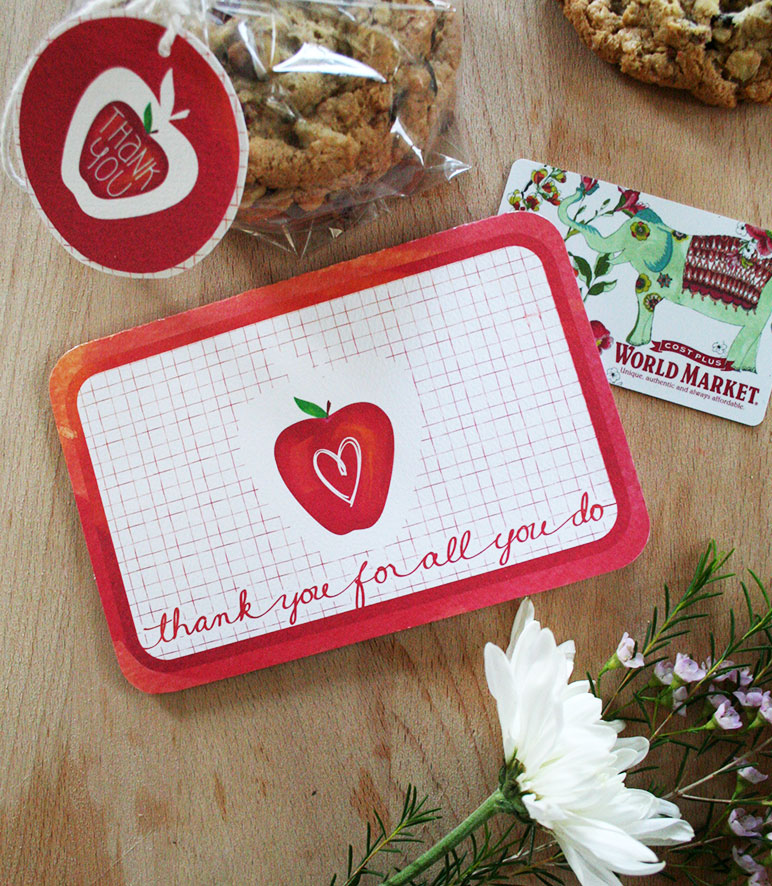 Teacher Appreciation Card kit designed by Jen Goode