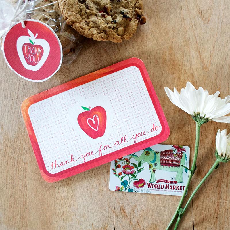 Teacher Appreciation Card kit by Jen Goode