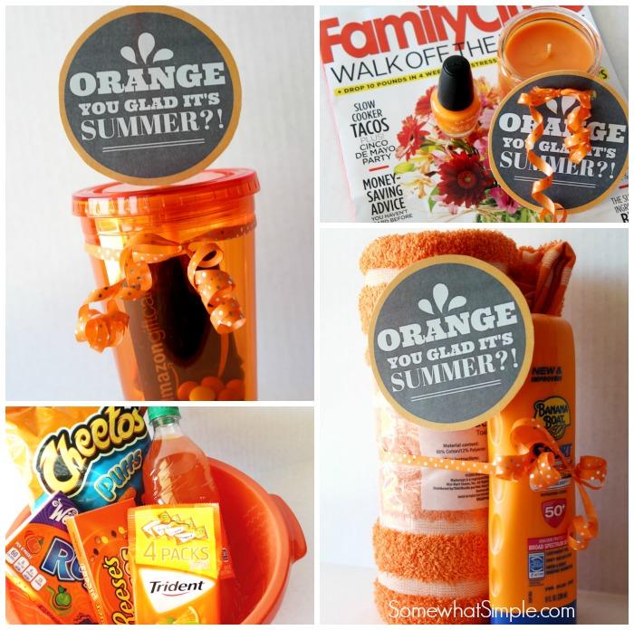 Orange You Glad Gift Basket Teacher Gift | Skip To My Lou