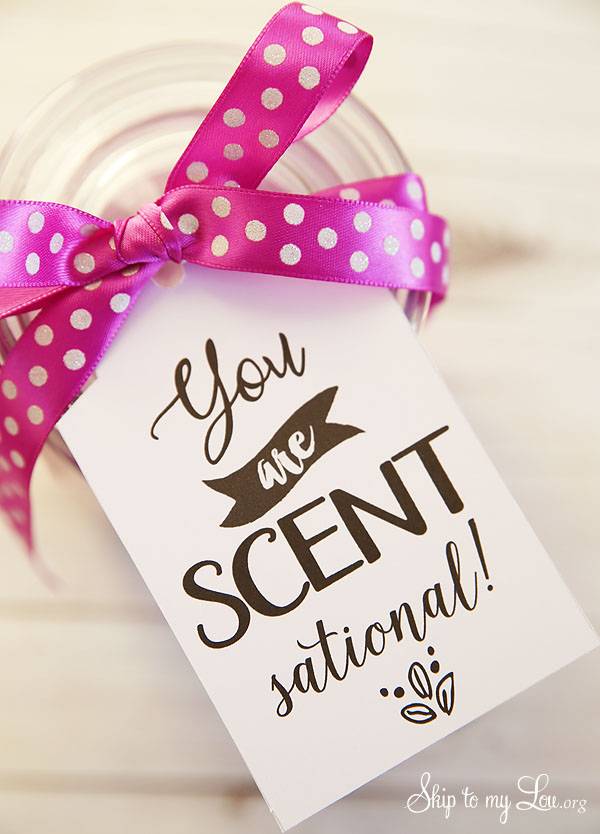 you are scentsational printable tag