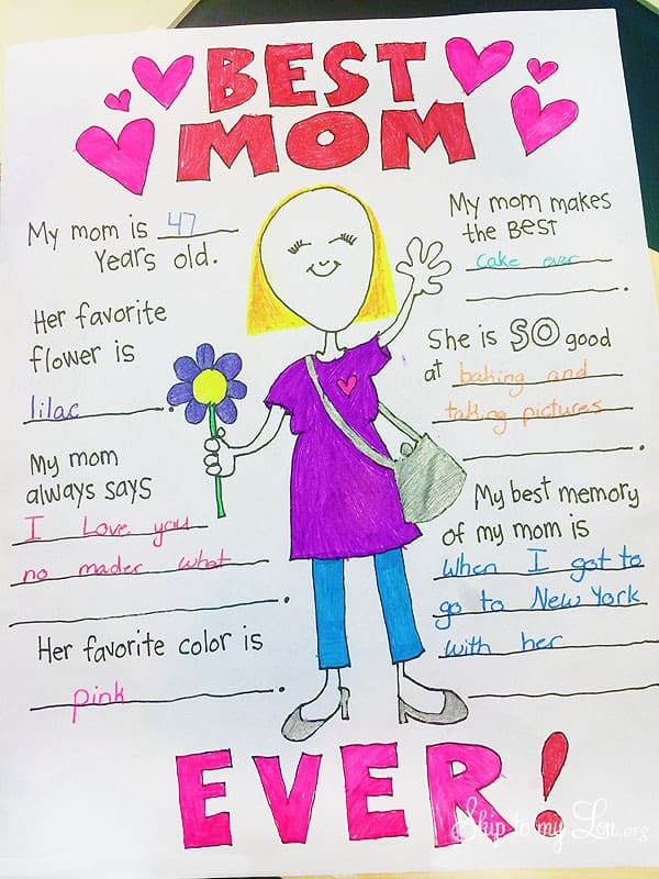 Mothers Day Coloring Pages to Celebrate the BEST Mom