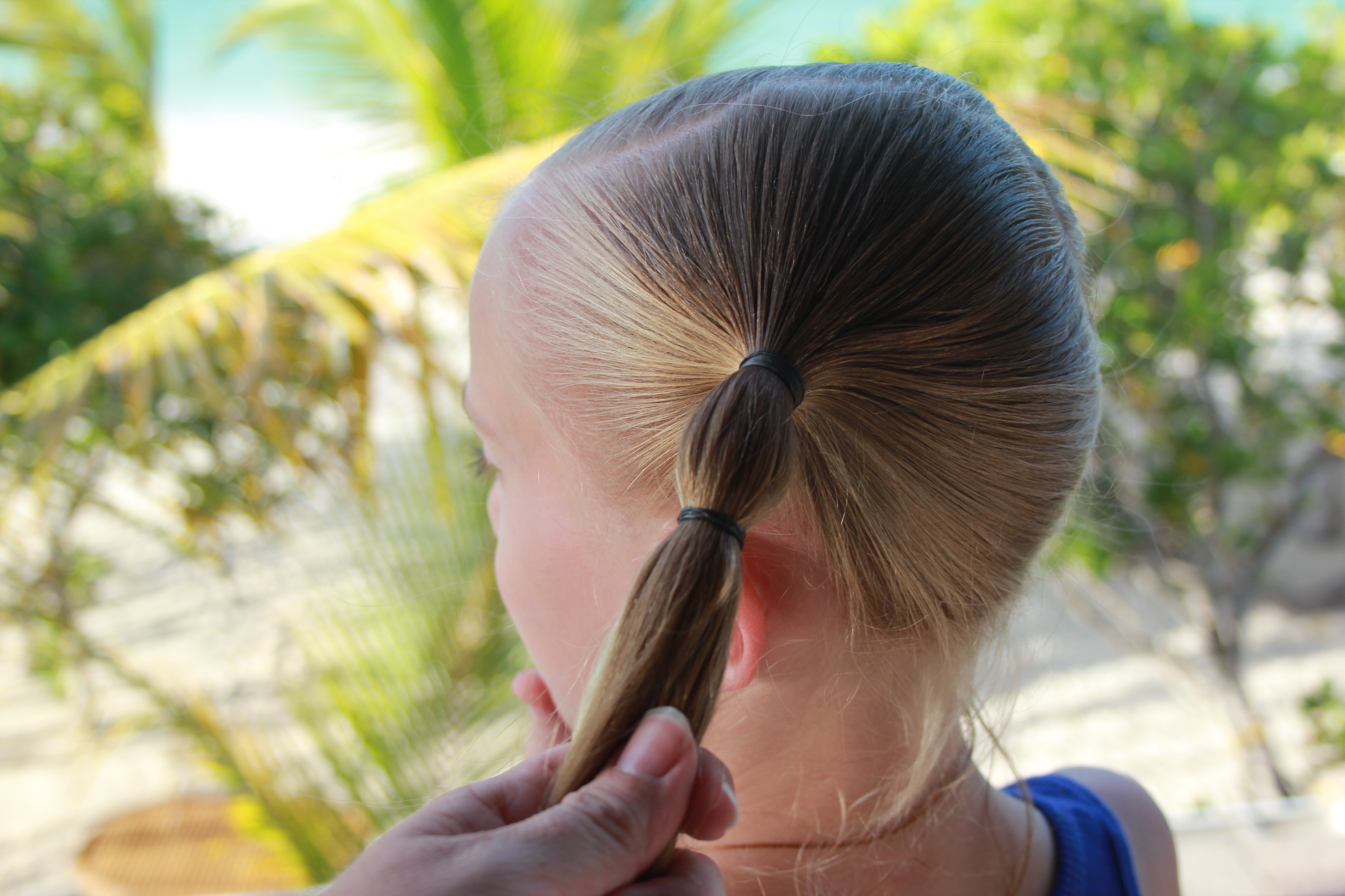 Easy Girls Hair Style Pony Tail Climbers Skip To My Lou