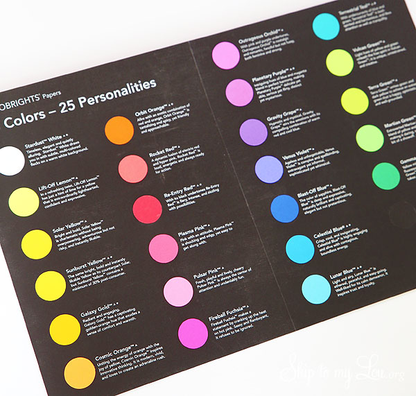 astrobrights color personalities