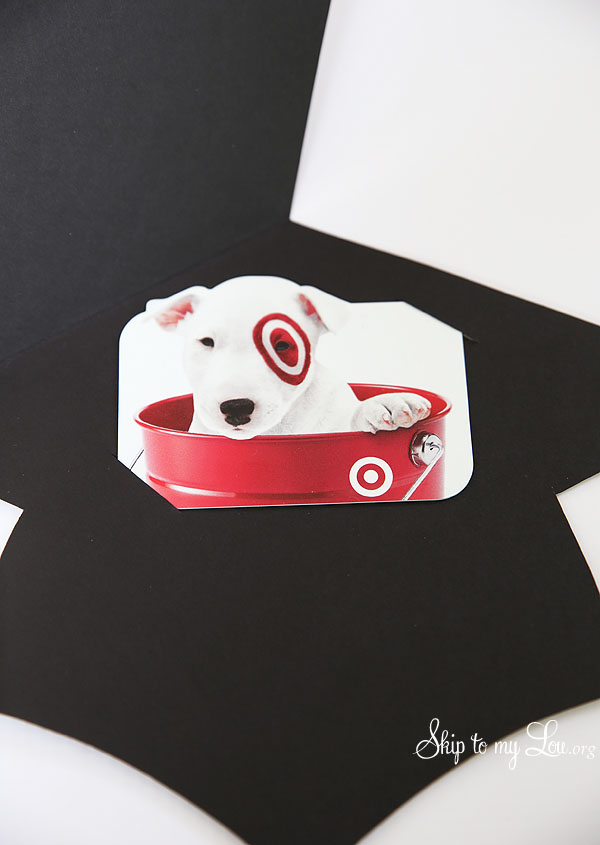 graduation cap gift card holder step 5