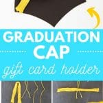 tassel graduation cap gift card holder PIN