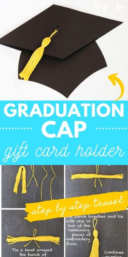 tassel graduation cap gift card holder PIN