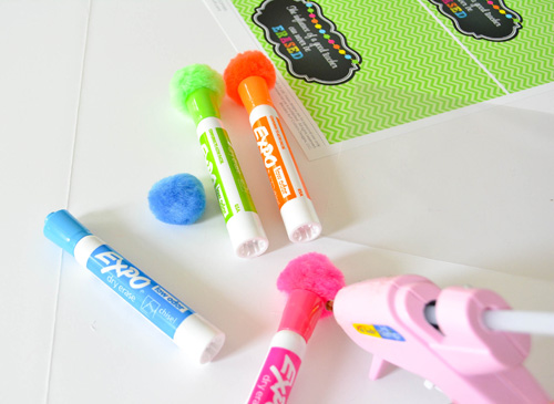 highlighter bag toppers