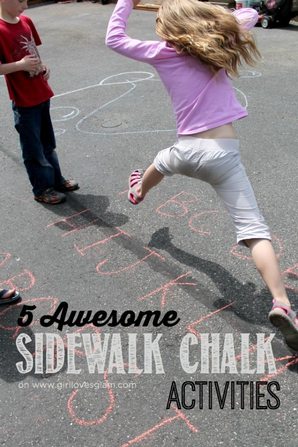 5 Awesome Sidewalk Chalk Acitivities