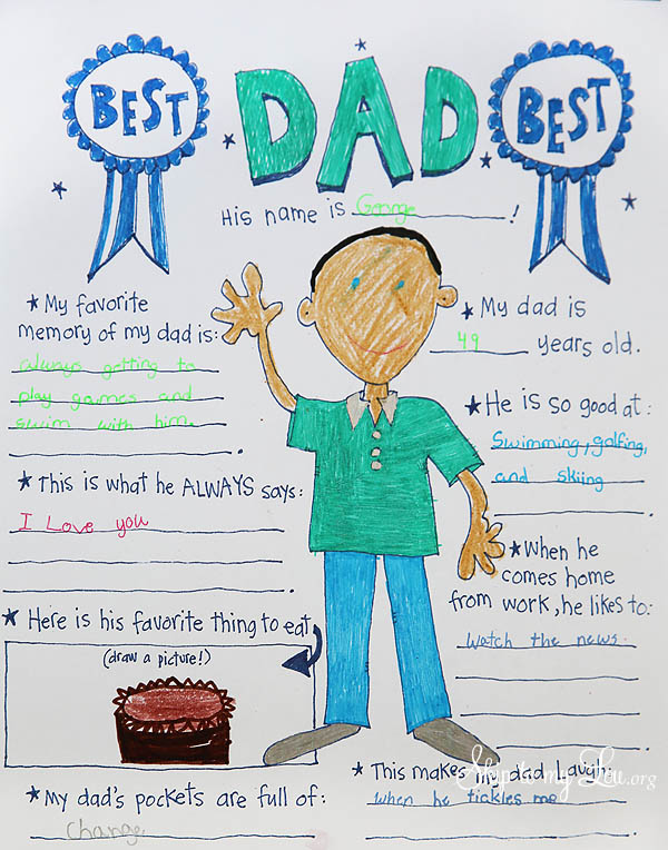 The BEST Father\'s Day Coloring Pages | Skip To My Lou