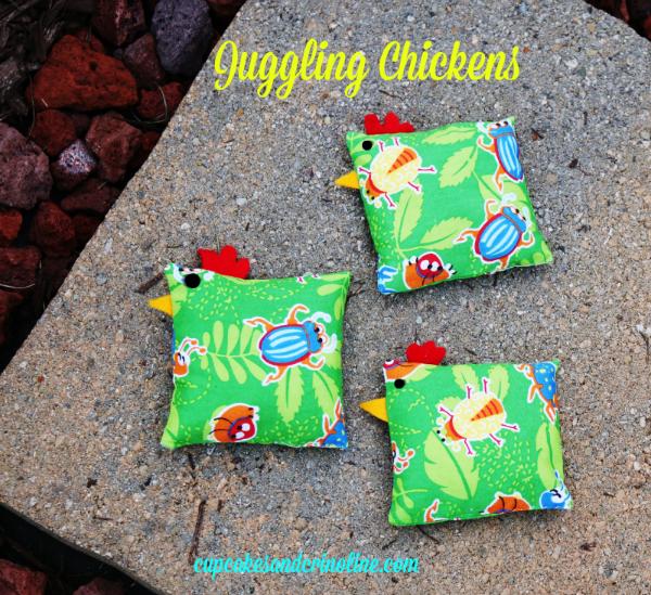 Juggling Chickens cupcakesandcrinoline.com