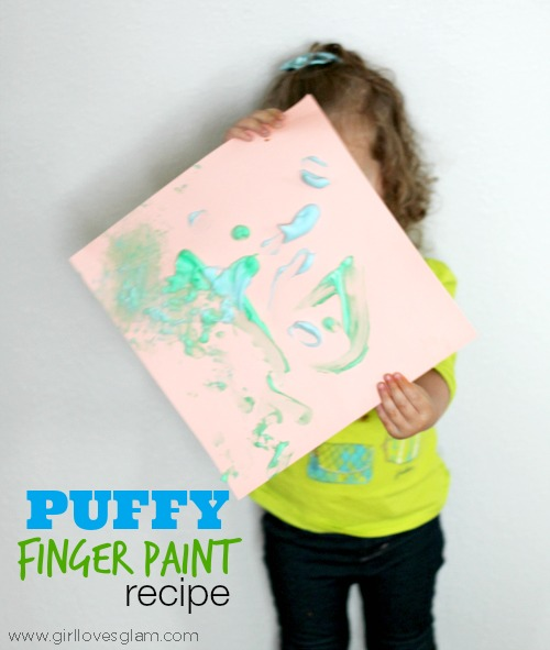 Puffy Finger Paint Recipe