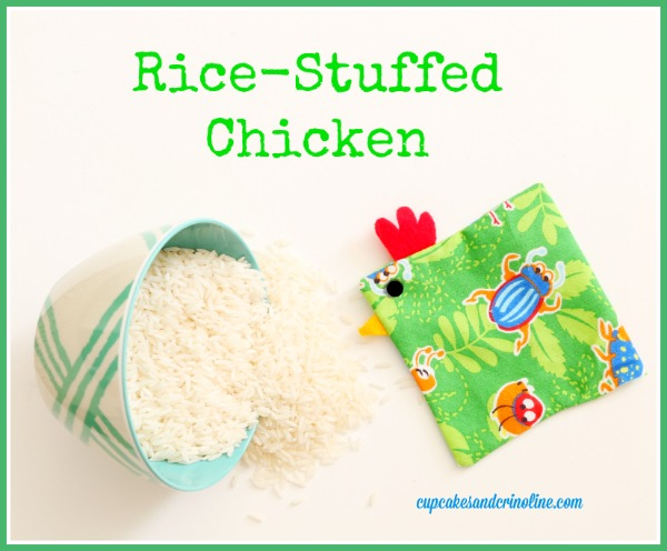 Rice-Stuffed Chicken  cupcakesandcrinoline.com