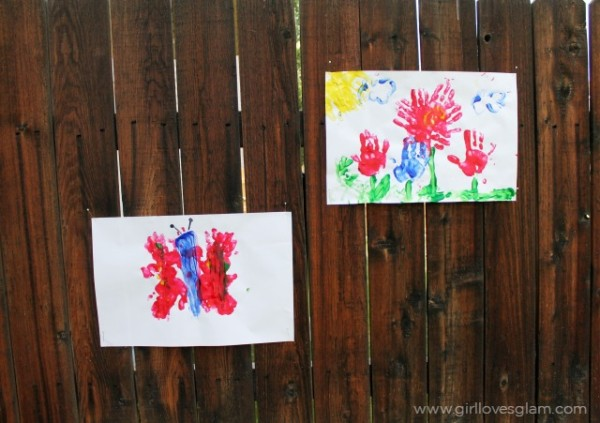 Summer Finger Painting