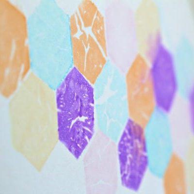 Tissue-wall-art