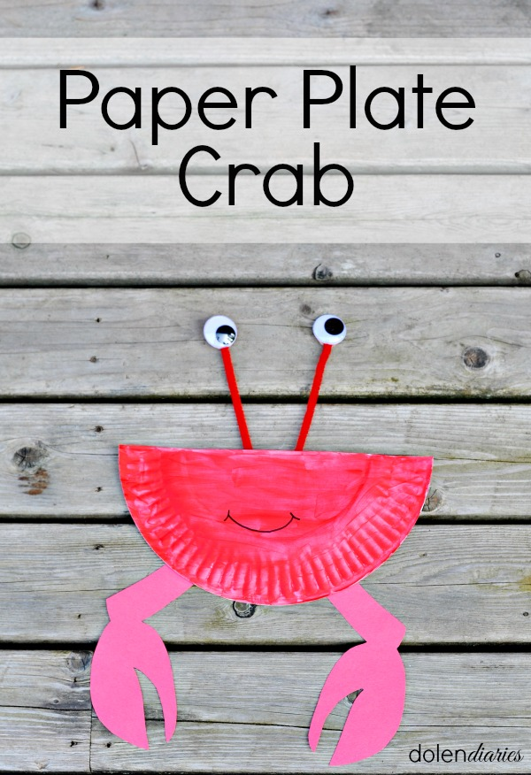 Title Paper Plate Crab
