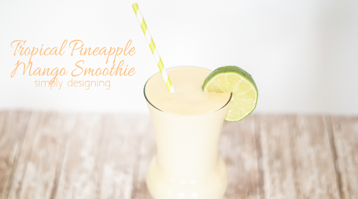 Tropical Pineapple Mango Smoothie featured image