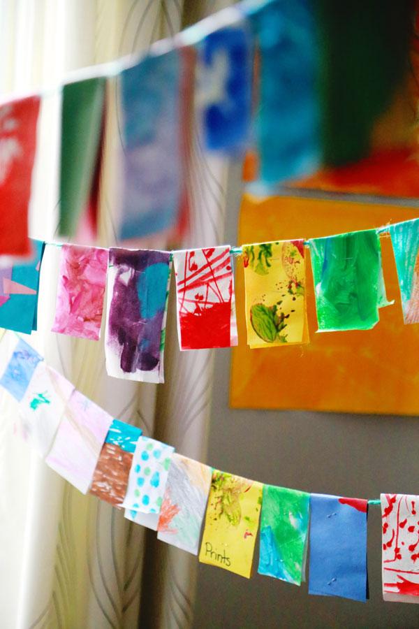 kid-art-garland-craft