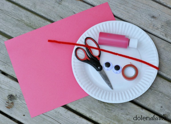 paper plate crab supplies