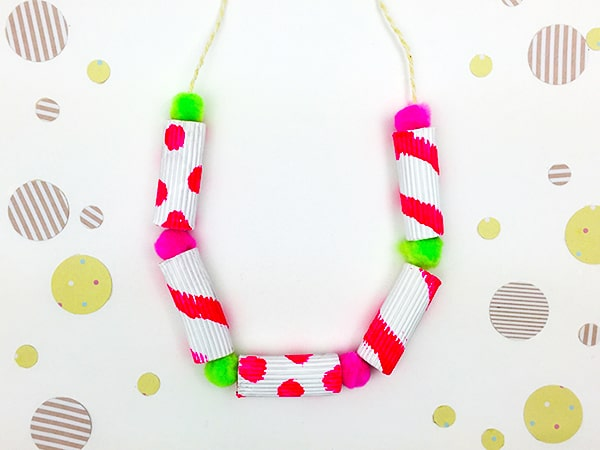 Make some DIY Jewelry For Summer Style - Painted Pasta ...