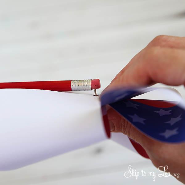 patriotic pinwheel step 5