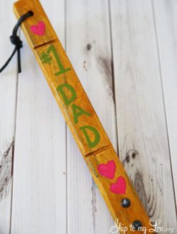 number one dad personalized spatula