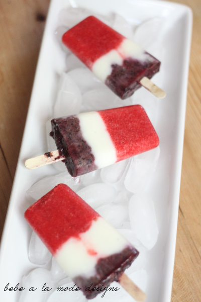 fruit & yogurt pops