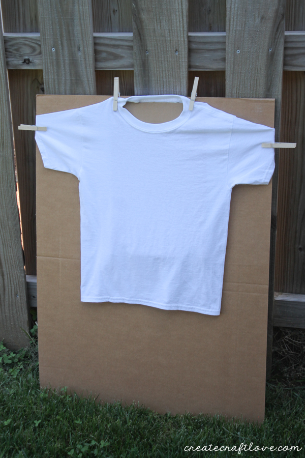 squirt gun tie dye blank tshirt