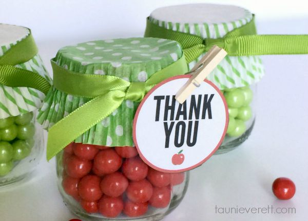 Apple Treat Jars 4