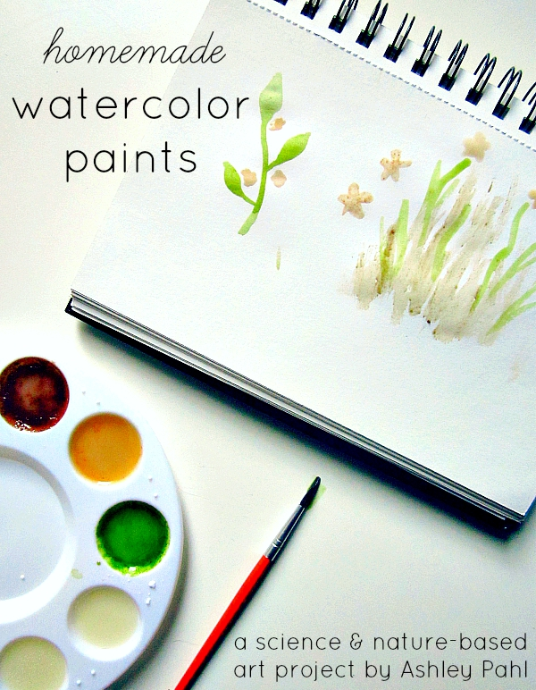Ashley Pahl Natural Watercolor Paints Introduction