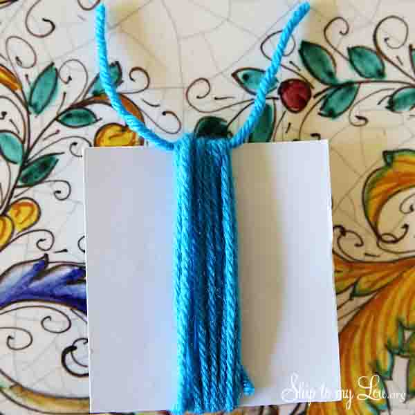 DIY tassel step 3