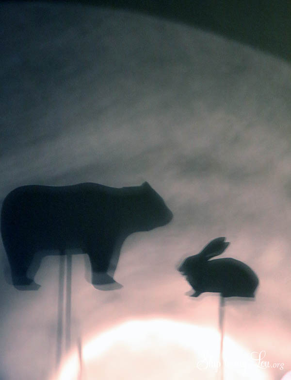 animal shadow puppets for flashlights
