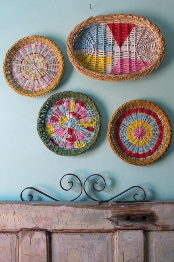Painted Basket Wall Art Skip To My Lou