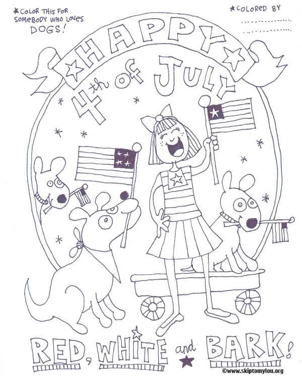 coloring page for dog lovers