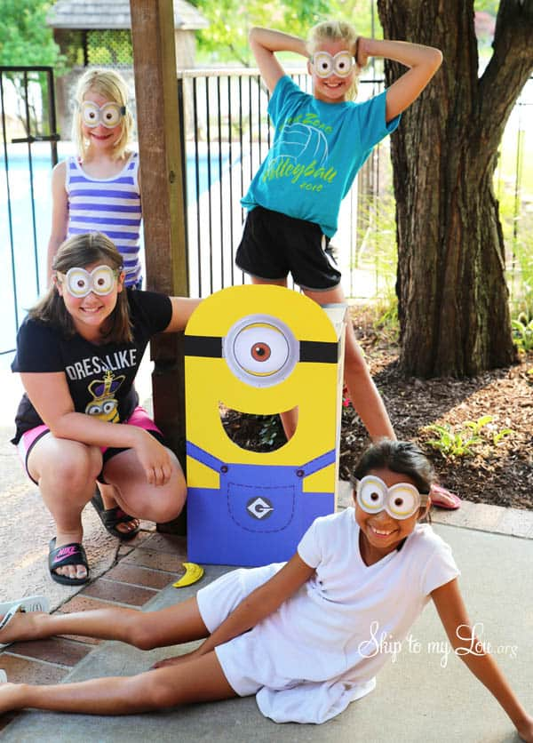 Minion Party Ideas free printables