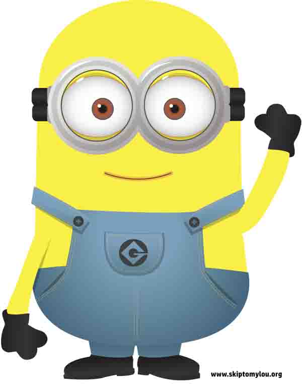 free printable minion arm up