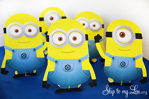 image about Minion Logo Printable named No cost Printable Minions Overlook In direction of My Lou