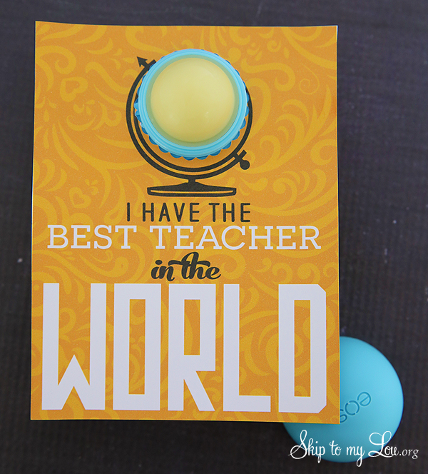 EOS best teacher in the world printable