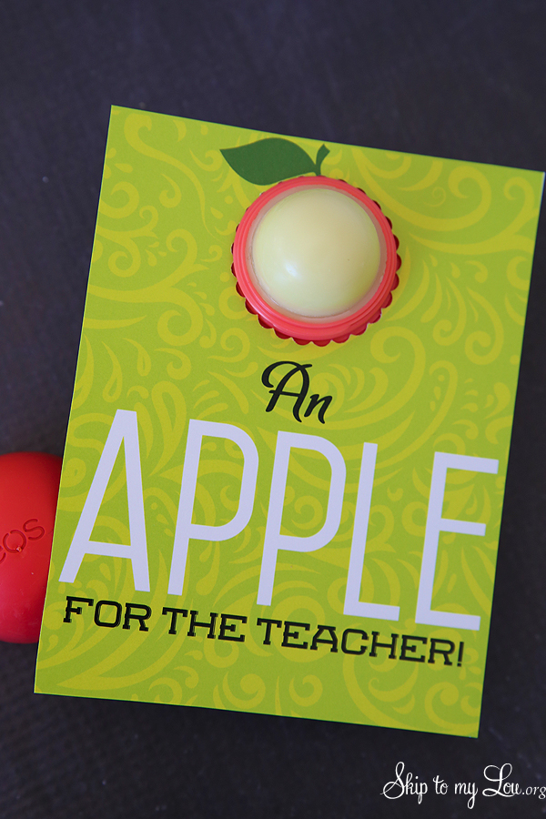 EOS teacher gift