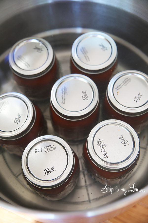 canning 101 place jars in water bath canner