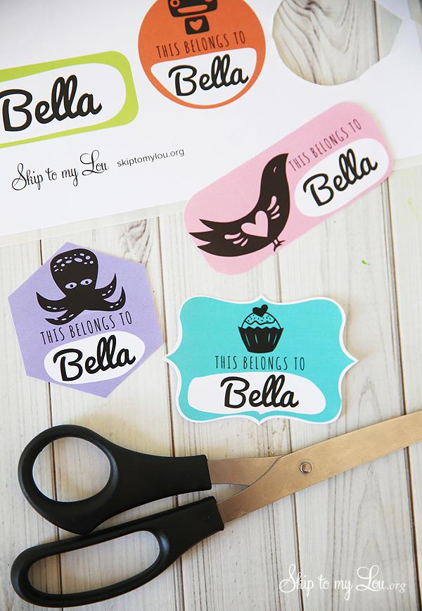 cool DIY custom stickers
