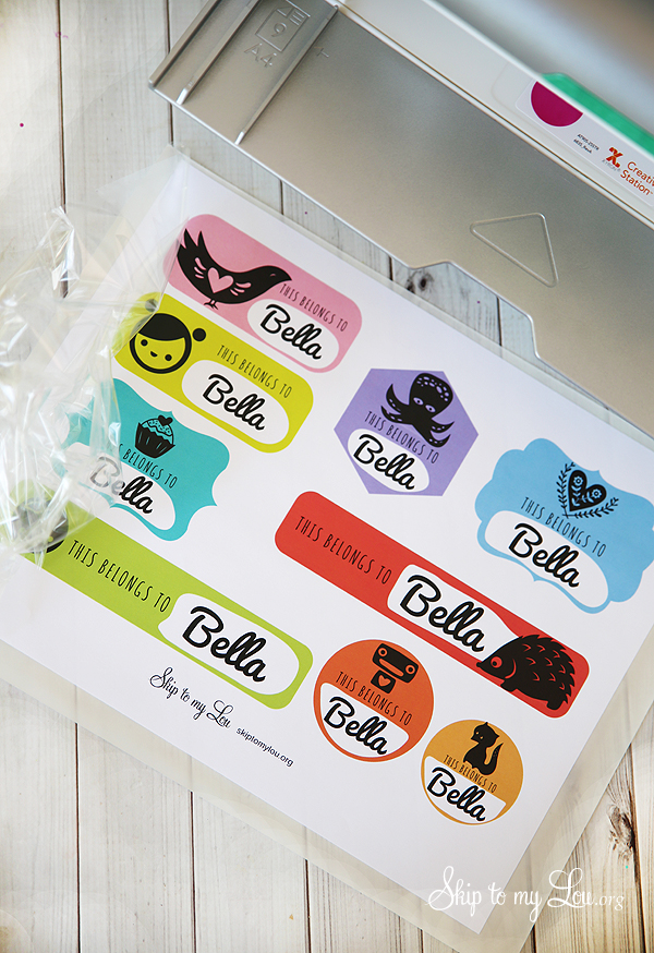 cool custom stickers for kids