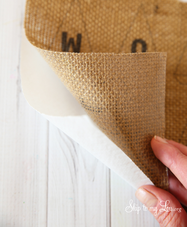 printing on burlap tips