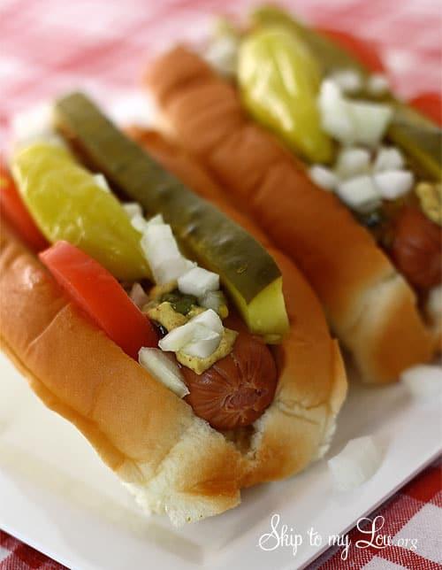 Chicago Hot Dog Side Dishes