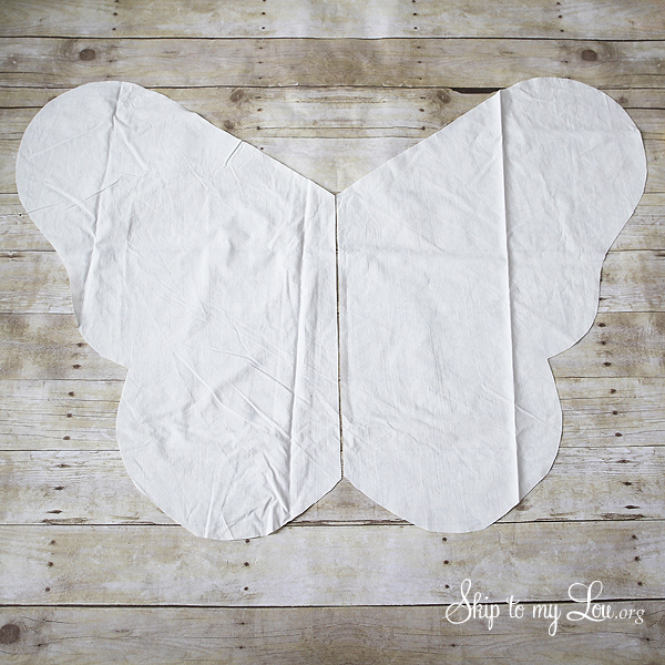 butterfly costume wings
