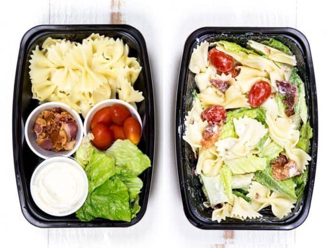 pasta salad lunch ideas