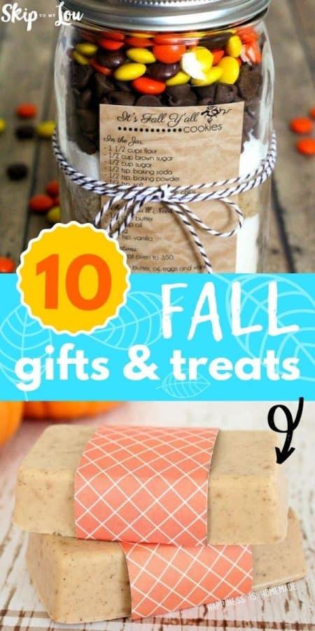 fall gifts and treats PIN